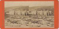 Gerusalemme Israele Palestina Foto Brogi Firenze Italia Stereo Vintage Albumina