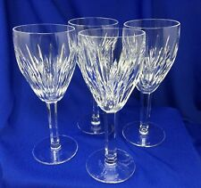 Waterford Crystal Set of 4 Carina Claret Wine Glasses