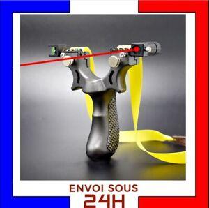 Fronde Pro Lance Pierre haute précision ||  Slingshot laser || chasse tir