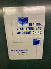 Heating, Ventilating, And Air Conditioning: Analysis And By Faye C. Mcquiston