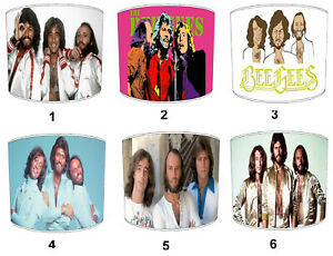 Bee Gees Lampshades, Ideal To Match Bee Gees Records Posters & Bee Gees Albums