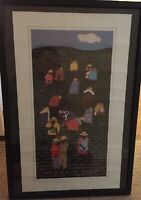 "Signed RACHELLE ALTMAN Barbados, West Indies Art Print - 1980s - 17"" x 28 1/4"""