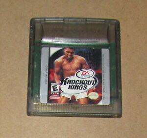 Knockout Kings for Nintendo Game Boy Color Fast Shipping