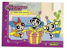2001 The POWERPUFF Girls trading cards Series2 -  PROMO card #PPGS2#3.