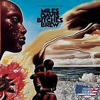 "MILES DAVIS: ""BITCHES BREW"": NEW 2 LP SET REISSUE: 180g VINYL: GATEFOLD COVER"