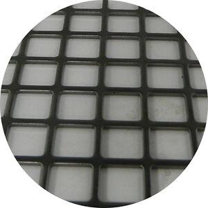 Mild Steel Perforated Sheet 2m x 1m x 2mm C10 U12 Bin 87 - 500120220