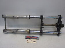 1993 Kawasaki ZX-6 Front Forks Triple Tree Axle Assembly