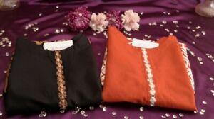 Ladies Kurta Pakistani Indian Kurti Women's Embroidery Shirts Tops  Kameez
