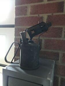 Vintage brass paraffin blow lamp torch