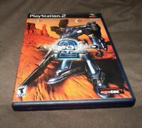 Armored Core 2 (Sony PlayStation 2, 2000) PS2 good retro game