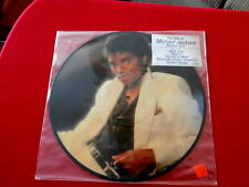 MICHAEL JACKSON~ THRILLER~ STILL IN ORIG. BAG ~ HYPE STICKER~ PICTURE DISC  LP