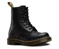 Dr Martens Womens Boots 1460W R11821006 Black Smooth Leather