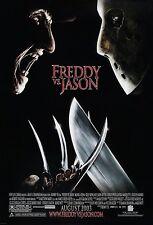 Freddy vs. Jason 2003 Slasher/Thriller Movie Poster