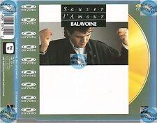 DANIEL BALAVOINE SAUVER L'AMOUR CD MAXI VIDEO laserdisc