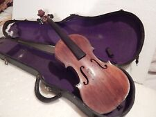 Very old handmade Violin, w/ missing parts,
