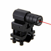 Tactical Red Laser Dot Sight Scope for Gun Rifle Pistol Picatinny Mount 11/21MM