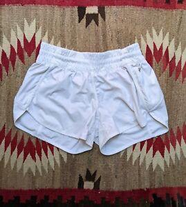 Women's Lululemon Shorts - Size 8 Reg - Lined - White