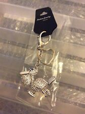 PELICAN CHARM / KEYRING -- Large size, Silver -- BRAND NEW