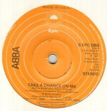 """ABBA Take A Chance On Me 7"""" Usa Pressing On Epic Label, B/W I'm A Marionette, S"""