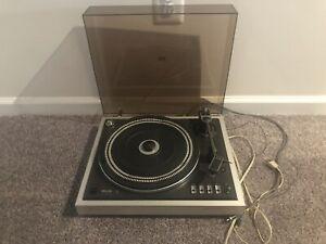 Philips Record Player - 222 GA222 Electronic DC Servo Belt-Drive Turntable
