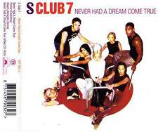 S-CLUB 7 NEVER HAD A DREAM COME TRUE CD SINGLE REACH ALMIGHTY MIX