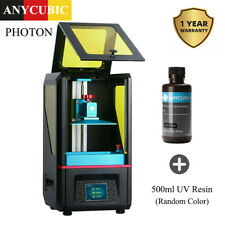 ANYCUBIC SLA/LCD PHOTON Stampante 3D Light-Cure+Extra 500ml  Resina UV Stampa 3D