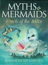 Myths & Mermaids Oracle of the Water Card Deck by Jasmine Becket-Griffith New