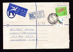 South Africa 1970 Reg cover Mobile PO PK N05 etiquette and postmark