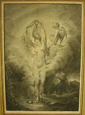 Gravure naissance de Vénus dessin d'Ange Rouillard  Graveur Claude Niquet c 1800