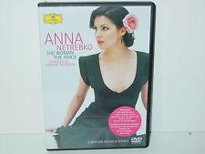 """*****DVD-ANNA NETREBKO""""THE WOMAN-THE VOICE""""-2004 Deutsche Grammophon*****"""