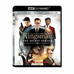 Kingsman: The Secret Service - 4K UHD + Blu-ray  [2015] Movie Film - Cert 15