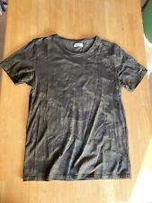 Zara men's shirt large camouflage