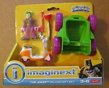 IMAGINEXT DC Super Friends THE JOKER DELUXE GIFT SET ~ Car & Scooter ~ NEW