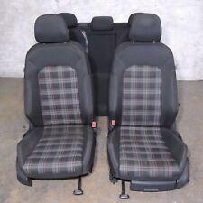 2015-2019 Mk7 Vw Gti Plaid Cloth Bucket Bolster Seats Set 4 Door Assembly -101(Fits: Golf)