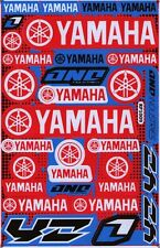 New Yamaha Motorcycle Racing R1 R6 Raptor Dirt Bike Vinyl Decals/Stickers (st12)