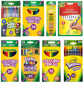 Crayola Kids Coloured Pencils - FAST & FREE DELIVERY.