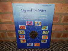 12 Signs of The Zodiac Postal Commemorative Society World Of Stamps Series,MNH