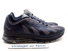Men's Nike Air Max '96+ Evolve Obsidian Grey Metallic Silver Running sz 12