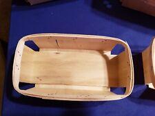 1 Quart Handmade Wooden Berry Baskets
