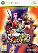 Super Street Fighter IV 4 by Capcom Microsoft Xbox 360 ITALIANO Gioco Game