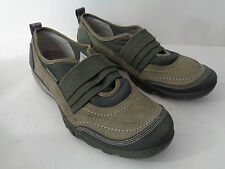 MERRELL US Womens 8.5M Mimosa Band Dusty Olive Leather Mary Jane Walking Shoe