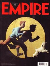 Empire Magazine #258 Tintin Steven Spielberg Pater Jackson
