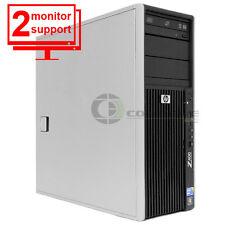 HP Z400 Workstation Intel Xeon W3505 CPU 6GB 128GB SSD Quadro FX 580 Win 10 Pro