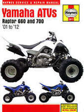 Yamaha YFM 660 700 Raptor Haynes Repair Manual Workshop Manual  2001-2012