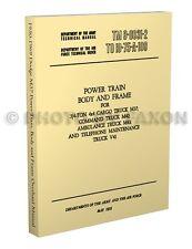 1950-1969 Dodge M37 M42 Overhaul Manual Body Axles Transmission Shop Book