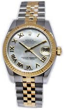 Rolex Datejust 18k Yellow Gold/Steel MOP Dial 31mm Watch Box/Papers 178273