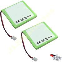 2 x Cordless Phone Batteries BT Verve 410 450 NI-MH 2.4V 5M702BMX CP77 GP0735