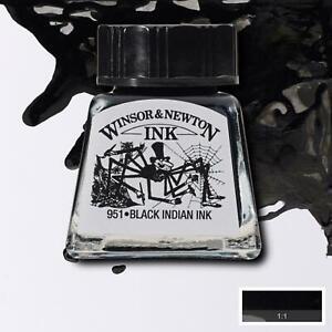 Winsor & Newton Drawing Ink 14ml for Brush, Dip Pen, Airbrush - BUY 4 GET 1 FREE