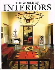 THE WORLD OF INTERIORS 03/2009 CARLOS GRONDA Isabella Blow DE LAUBADERE@excl