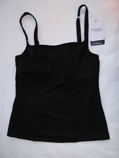 Panache Size 30D Holly Underwired Non Padded Tankini Top Black